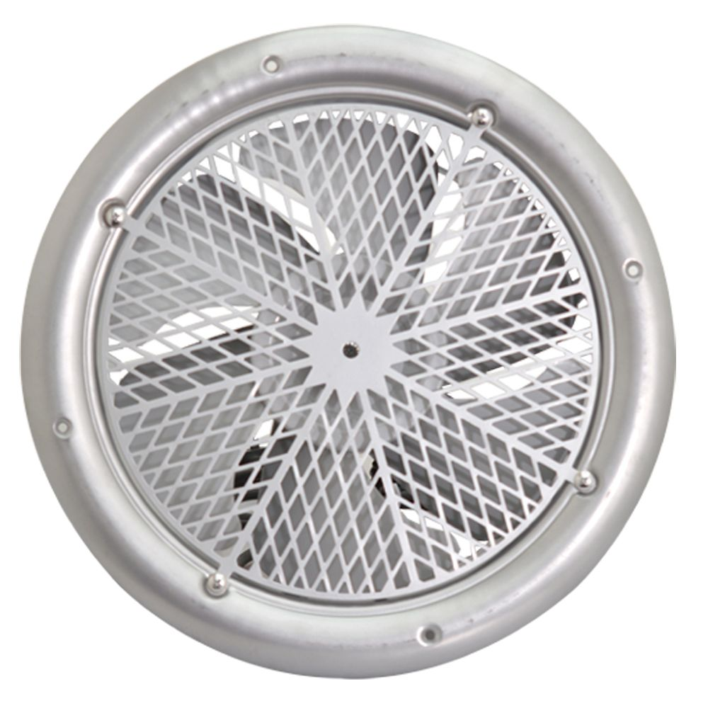 Extractor fan for kitchen - 300mm Silver Cased Axial Extractor Canopy Kitchen Restaurant Industrial Duct Grill Fan